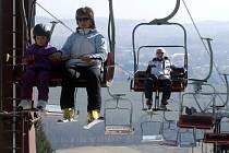 Poslední místo na Žďársku, kam můžete vyrazit na sjezdovky, je novoměstský Harusův kopec.