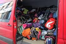 Podařilo se nasbírat přes tři stovky batůžků.