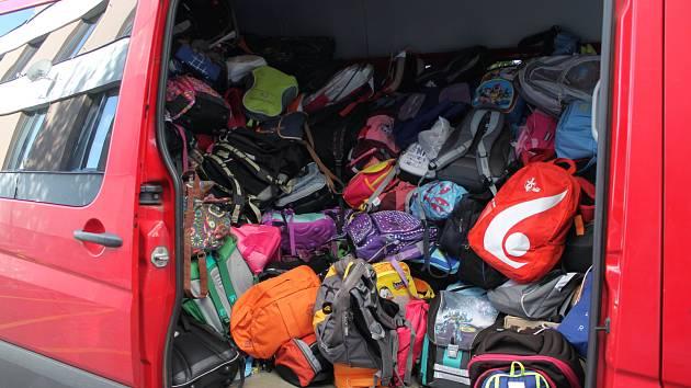 Batůžky z Vysočiny už jsou na cestě k africkým dětem