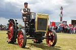 Historické traktory se ve Škrdlovicích představí už popáté. Foto: Deník/Helena Zelená Křížová