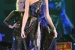 Vrcholem taneční sezony na Žďársku se stal ples V Žitě módní návrhářky Beaty Rajské.