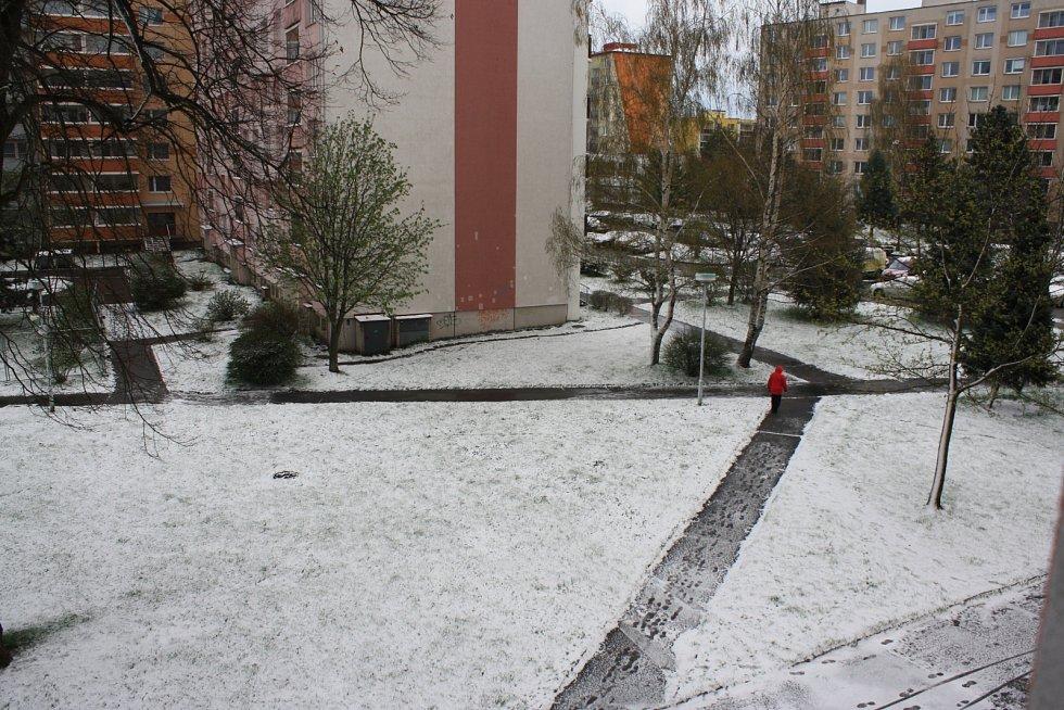 V ulici Libušínská ve Žďáře nad Sázavou