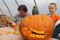 Halloween je svátek typický spíše pro anglofonní země. Tradičně ho oslavují především vyřezáváním dýní. Zájemci si v této činnosti mohou také zasoutěžit.