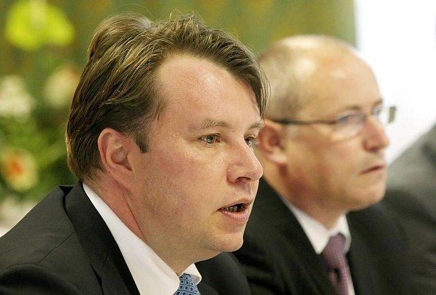 Martin Kocourek, český ministr průmyslu a obchodu, zavítal v pondělí 27. září na Žďársko.