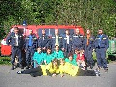 Družstvo žen SDH Chlébské si ze soutěže v Nedvědici v roce 2007 přivezlo prvenství ve své kategorii.