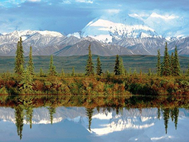 Aljaška – Národní park Denali.