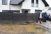 Živel nešetřil ani dům a zahradu Martiny Sáblíkové.