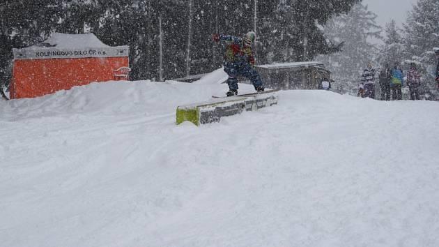 V Novém Jimramově se uskutečnil 7. ročník Batyskaf Snow Session.