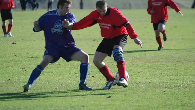 Fotbalisté Rozsoch i Bohdalova přivezli z venkovních trávníků plnohodnotnou bodovou kořist.