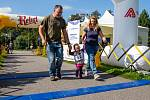 Slunečné počasí na akci přilákalo přes dvě stovky návštěvníků.