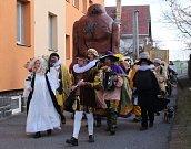Koncem února v Pikárci uspořádali ostatkové slavnosti. Příznivci masopustního veselí se mimo jiné společně vrátili na dvůr císaře Rudolfa II.
