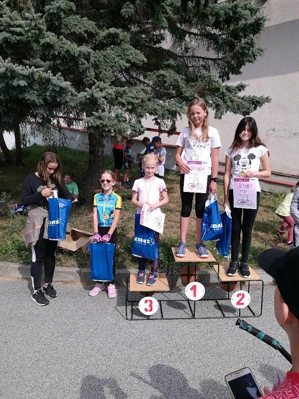 Cyklistický oddíl TJ Žďár nad Sázavou uspořádal tradiční dětské cyklistické závody.