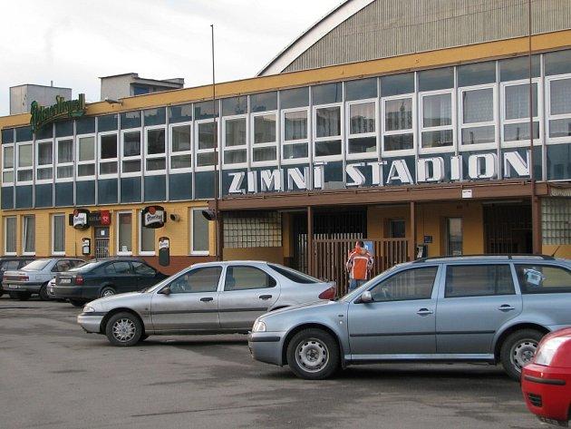 Zimní stadion ve Žďáře nad Sázavou.