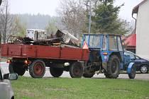 Dobrovolní hasiči na Vysočině sbírají každoročně železný šrot i vysloužilé elektrospotřebiče.