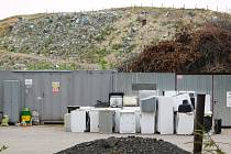 Skládka komunálního odpadu.