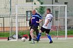 Před hráči FC Orel (v modrém dresu) je složitá úloha. Pokud chtějí první ligu zachránit, musí poslední celek tabulky obrat o body nejlepší dva týmy soutěže.