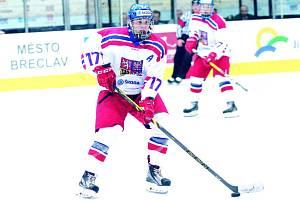 Hokejový útočník Ondřej Machala