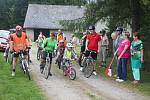 Po stopách kluka z hájenky se rok co rok vydávají cyklisté.