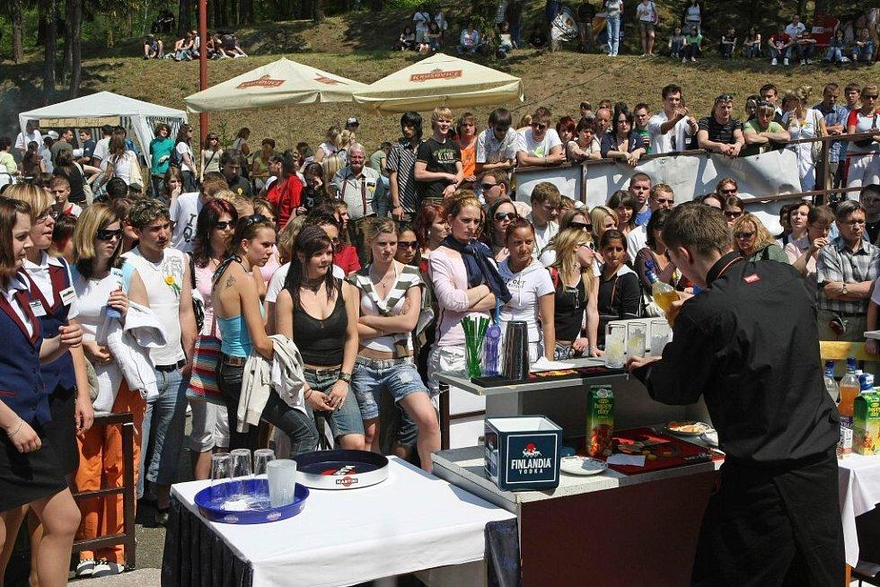 Tradiční gastronomická výstava Gastroden přilákala do prostor Hotelové školy Světlá a Obchodní akademie ve Velkém Meziříčí stovky zvědavců.