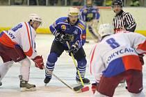 VYDRŽÍ JIM EUFORIE? Hráči Horáckého hokejového klubu po nečekaném postupu přes Rokycany narazí v play off druhé ligy na dalšího favorita. Vydrží Velkomeziříčským postupová radost i v sérii s Benátkami nad Jizerou?