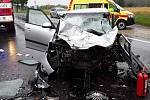 Tragická dopravní nehoda ve Velkém Meziříčí.