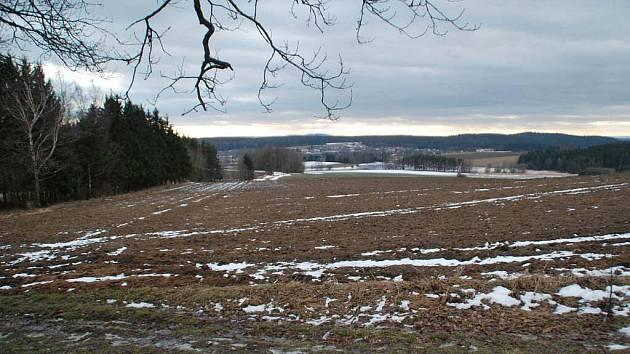 Během víkendu sníh na Žďársku téměř zmizel