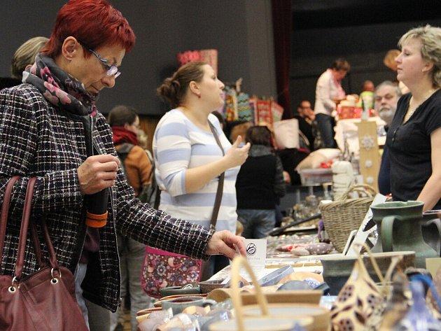 Fler trh v Novém Městě na Moravě.