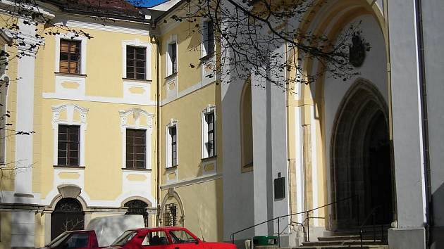Žďárský kostel Nanebevzetí Panny Marie