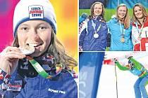 Veronika Čamková si ze zimních Olympijských her mládeže v Innsbrucku přivezla stříbro ze skikrosu.
