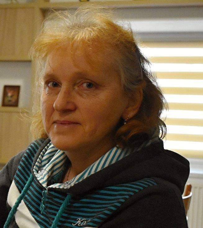 Starostka Milasína Marie Dvořáková.