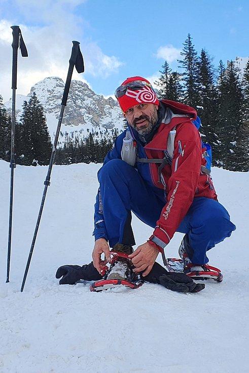 Novoměstský horolezec Radek Jaroš. Foto: archiv Radka Jaroše