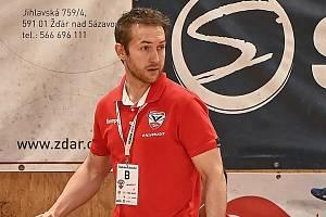 S výkonem svých svěřenců v posledním utkání letošního extraligového ročníku mohl být trenér Nového Veselí Peter Kostka více než spokojený.