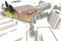 Sportovní hala má vzniknout na místě bývalého tělovýchovného střediska.