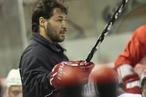 Trenér Martin Sobotka.
