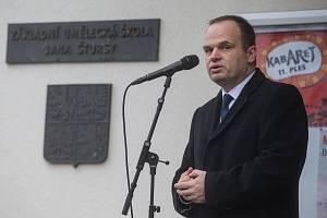 Starosta Nového Města na Moravě Michal Šmarda.
