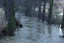 Voda v řekách a potocích Ždárska stoupá. V žádném ze sledovaných úseků ale nedosáhla prvního povodňového stupně. Ilustrační foto: Deník/archiv