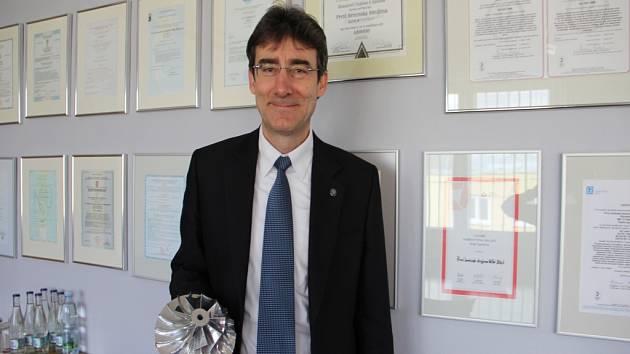 Generální ředitel PBS Velká Bíteš Milan Macholán.