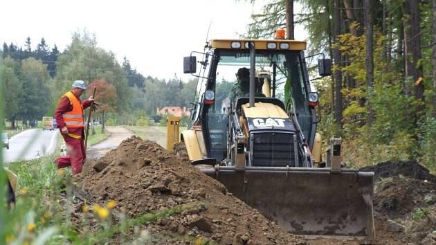 Náklady na pořízení stezky, která bude dlouhá necelý kilometr, se vyšplhají na více než tři a půl milionu korun.
