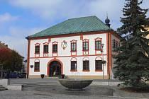 Stará radnice ve Žďáře nad Sázavou.