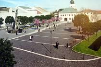 Radní představili sérii studií budoucího vzhledu náměstí Republiky. Za rekonstrukci zaplatí město dvaadvacet milionů včetně daně.