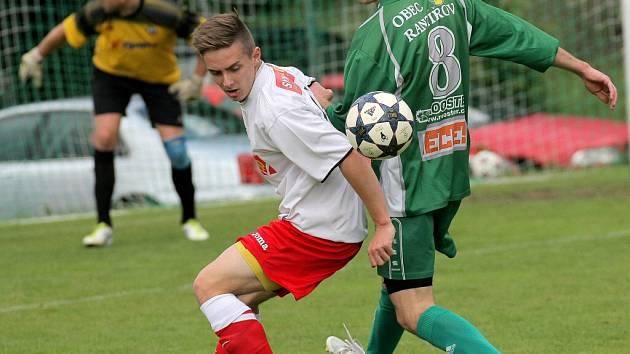Nečekaně hladce přejel Rantířov v přímém souboji o záchranu Náměšť, kterou vyprovodil šesti góly.
