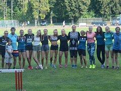 Atletkám TJ Nové Město se sezona povedla.
