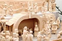 Žďárský betlém symbolizuje mimo jiné i jednotu, s níž se lidé do společného vyřezávání pustili.