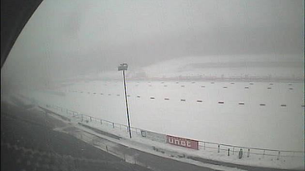 Lyžařský stadion v úterý 11. ledna.