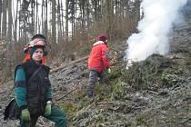 Pracovníci podniku Kovoles se uplatňují hlavně v lesnickém provozu, kde podle potřeby sází stromky, provádí ochranné postřiky, stavějí oplocenky, vyžínají či uklízejí po těžbě.