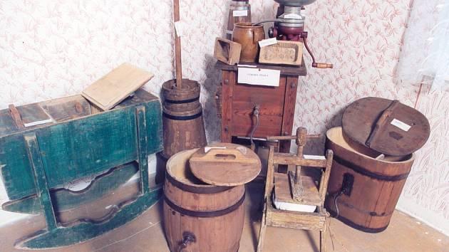 Ve mlýně je možné najít i předměty, které se používaly v minulých staletích.