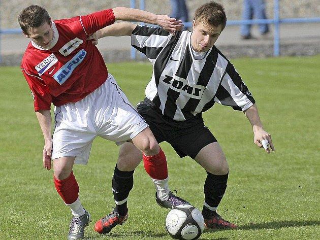 Fotbalisté Žďáru nad Sázavou prohráli ve 21. kole divize D na hřišti Bystrce nejtěsnějším rozdílem.