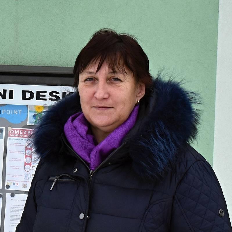 Starostka Heřmanova Pavla Chadimová.
