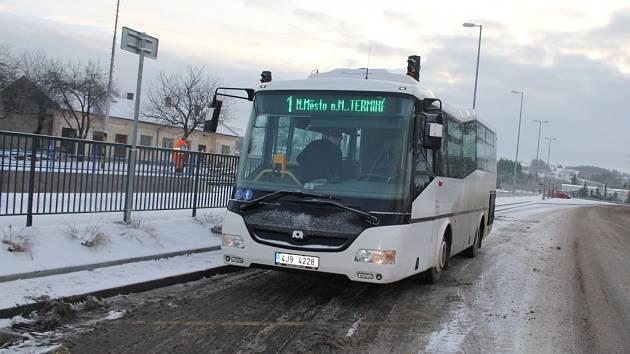 Městská autobusová doprava v Novém Městě.