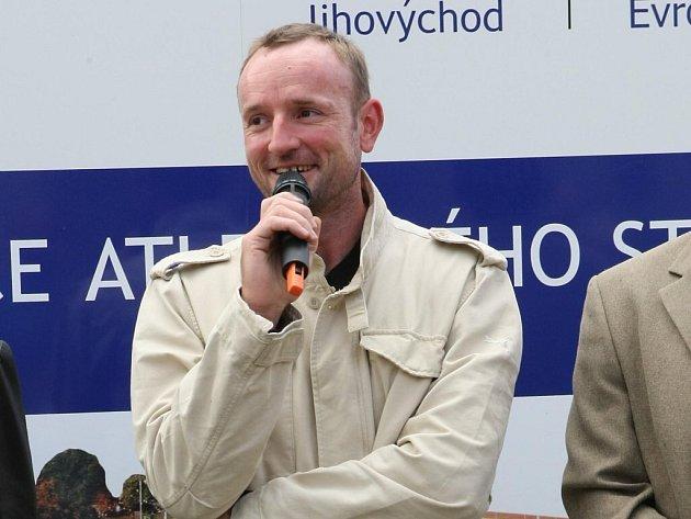 Trojnásobný mistr světa v desetiboji Tomáš Dvořák.